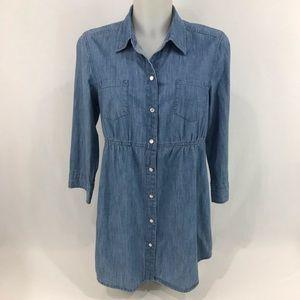 Denim & Co Denim tunic shirt